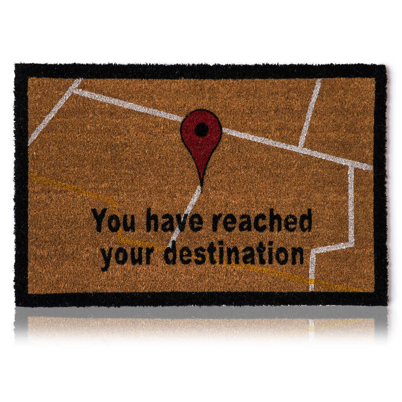 GPS Destination Door Mat