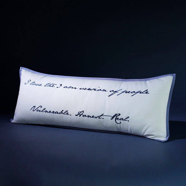 Personalised Quote Body Cushion