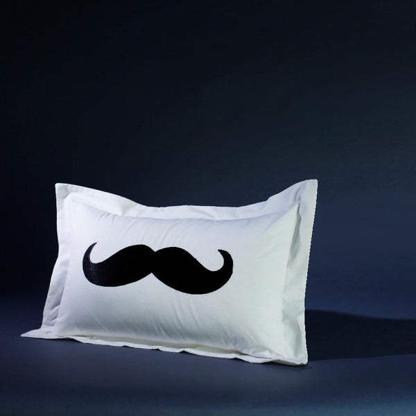 Moustache Cushion Cover