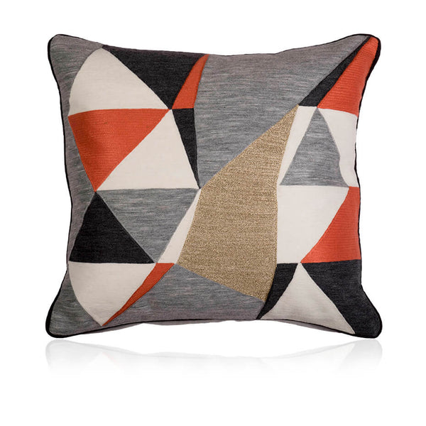 Arrow Patchwork Cushion Cover