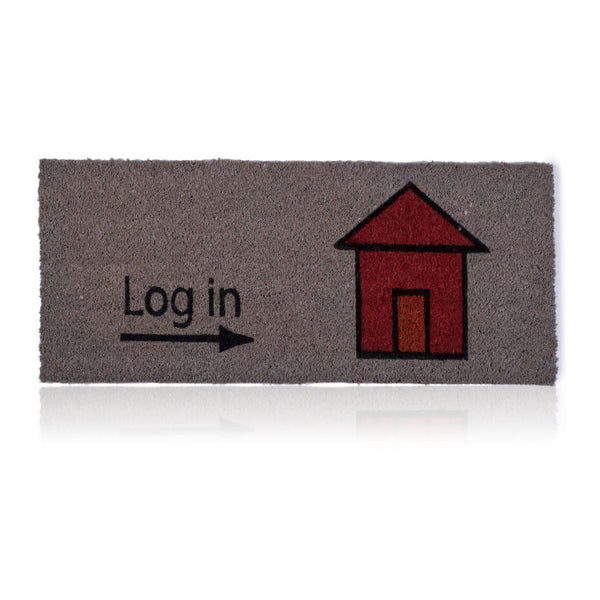 Log In Door Mat