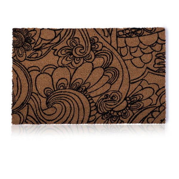 Flower Sketch Door Mat