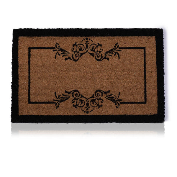 Scroll Border Door Mat