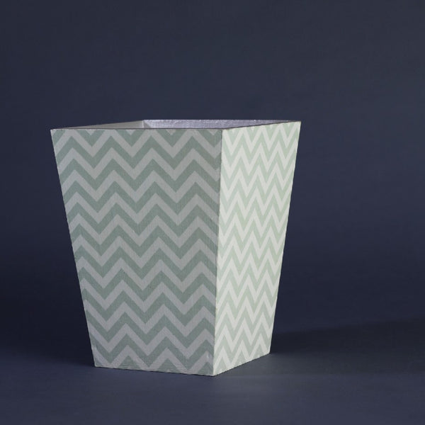 DUSTBIN SILVER CHEVRON