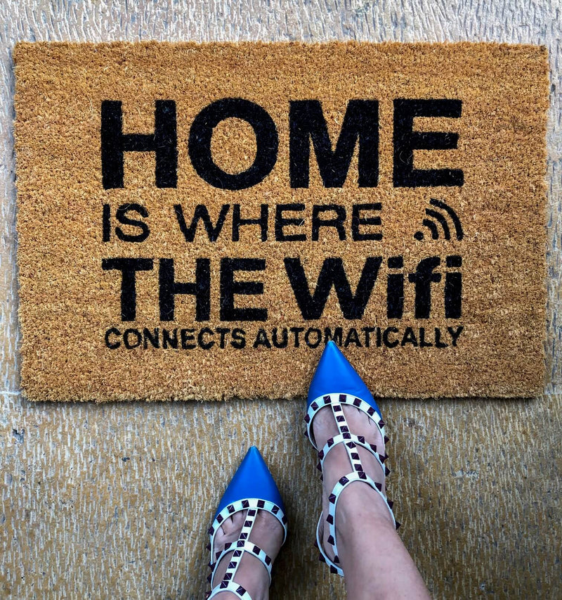 Wifi Front Door Mat