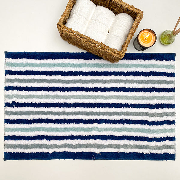 Sailor Blue Washable Rug