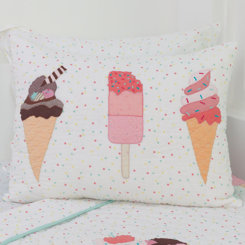 Scoops & Smiles Pillow Sham