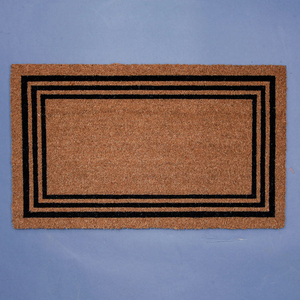 Plain Border Front Door Mat