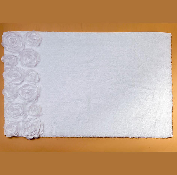 Bloom Roses Bath Mat