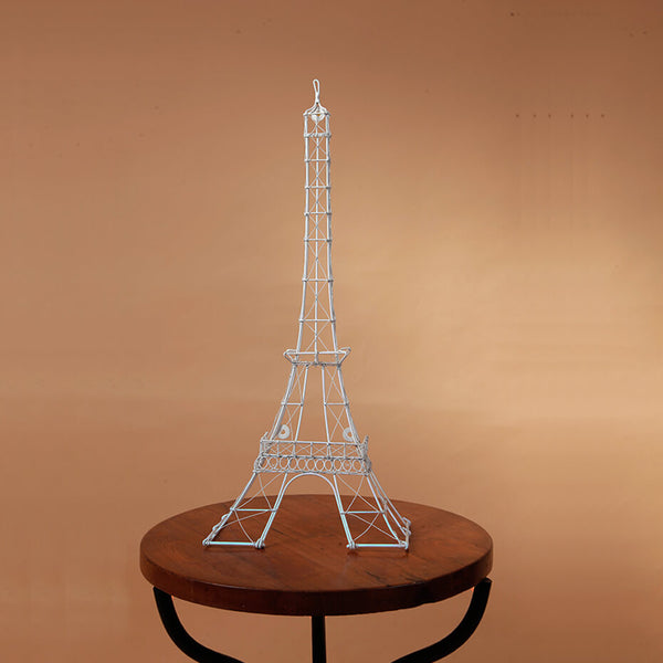 White Eiffel Tower (Wall or Desk)