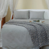 Wave Flint Grey Day Duvet Set