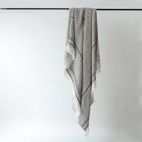 Finnish Grey Throw
