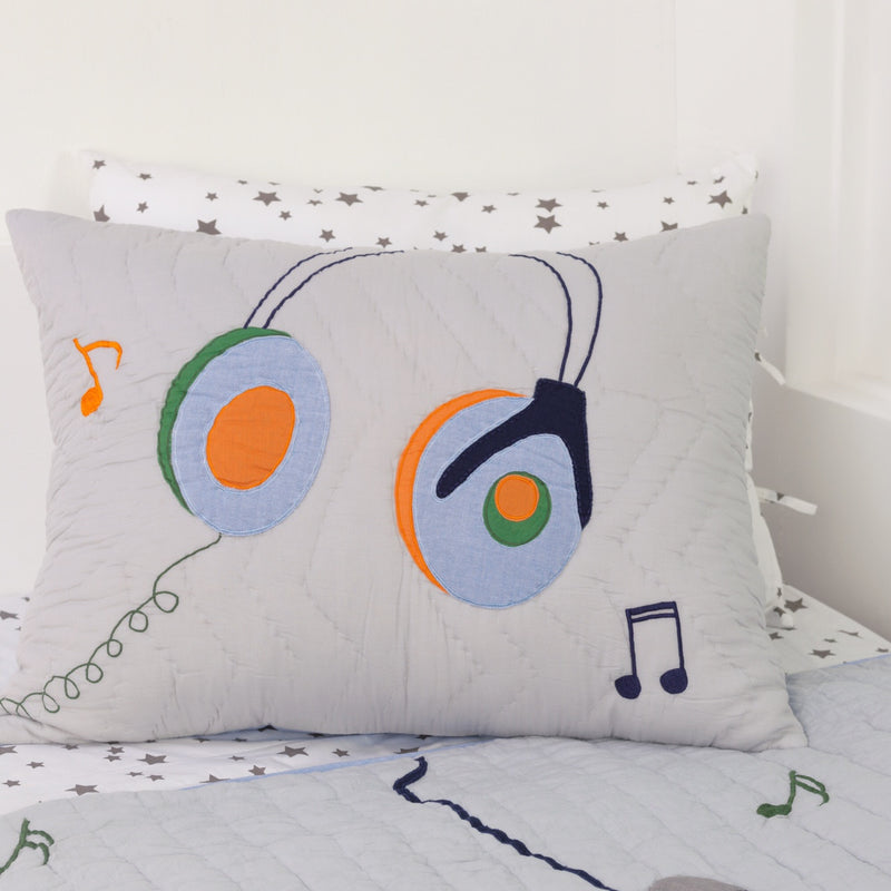 Rock Star Pillow Sham