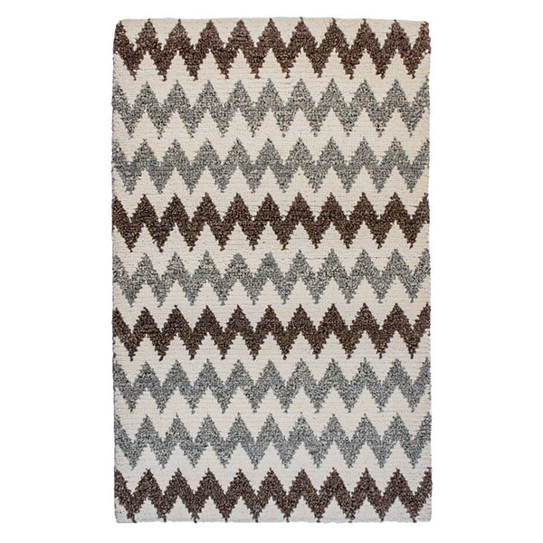 Pebbled Chevron Rug