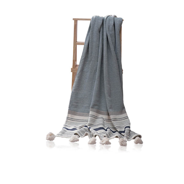 Tassle Boho Throw