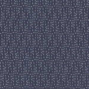 "Art Gallery Fabric- Denim Studio (Casted Loops) (sold in 50cm (20"") increments)"