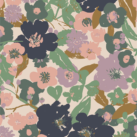 "Lillliput by Art Gallery Fabrics-  Full Bloom (sold in 25cm  (10"") increments)"