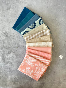 Curated fat quarter bundle 'Spring Cotillion'- 12 Fat Quarters (Art Gallery Fabrics, Cotton & Steel, Bella)