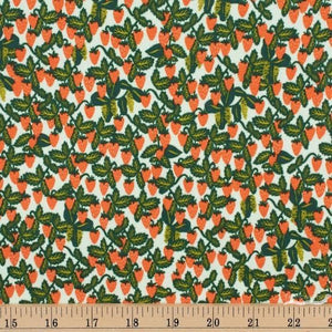 "Cotton + Steel- Rifle Paper Co Primavera (sold in 25cm  (10"") increments)"