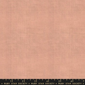 "Warp and Weft by Ruby Star Society- Cross Weave in Dahlia (sold in 25cm  (10"") increments)"