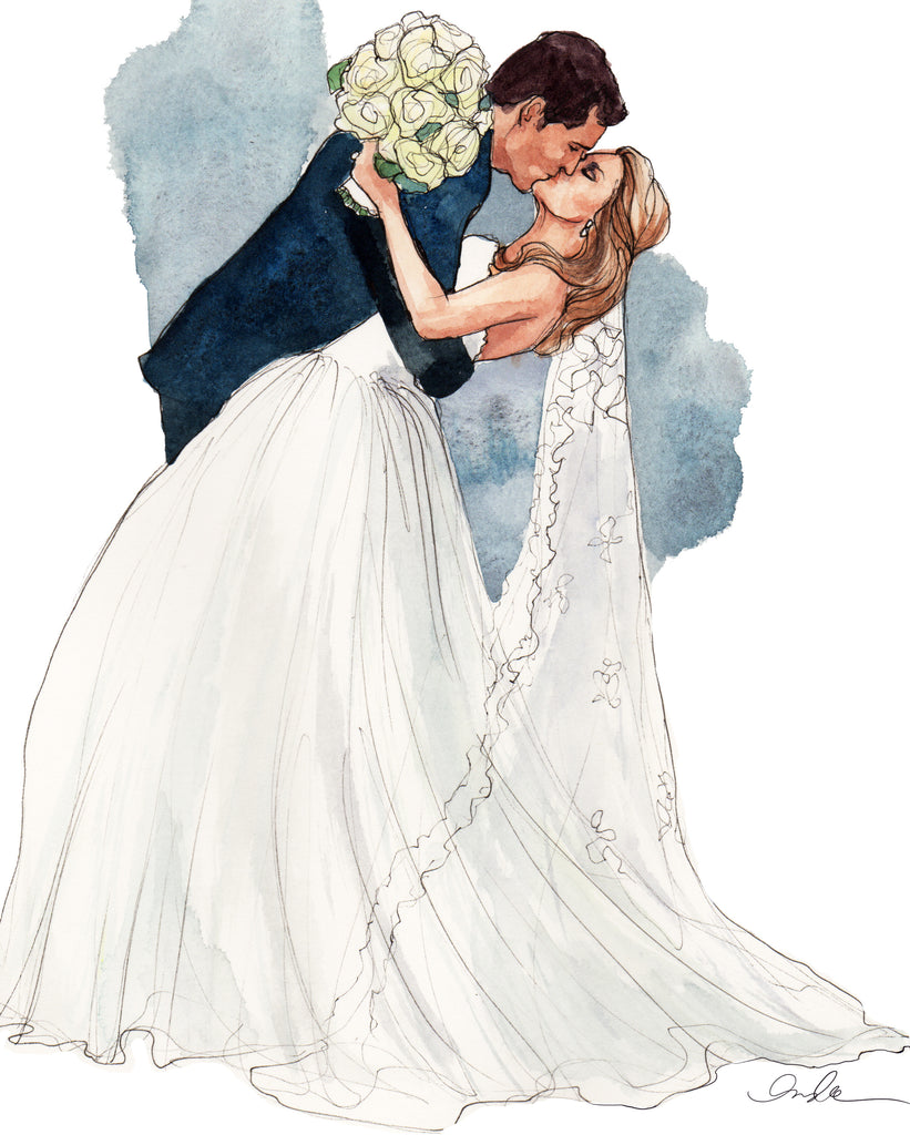 "The Sketch Book – Tagged ""wedding commission"" – Inslee Fariss"