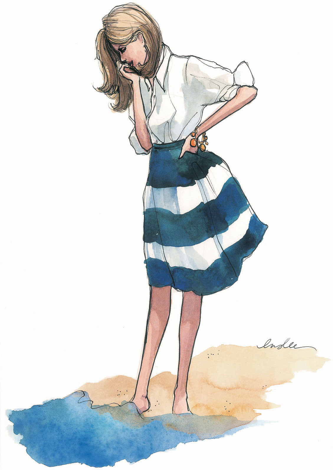 Fashion Illustration Calendar : The sketch book tagged quot inslee stationery fariss