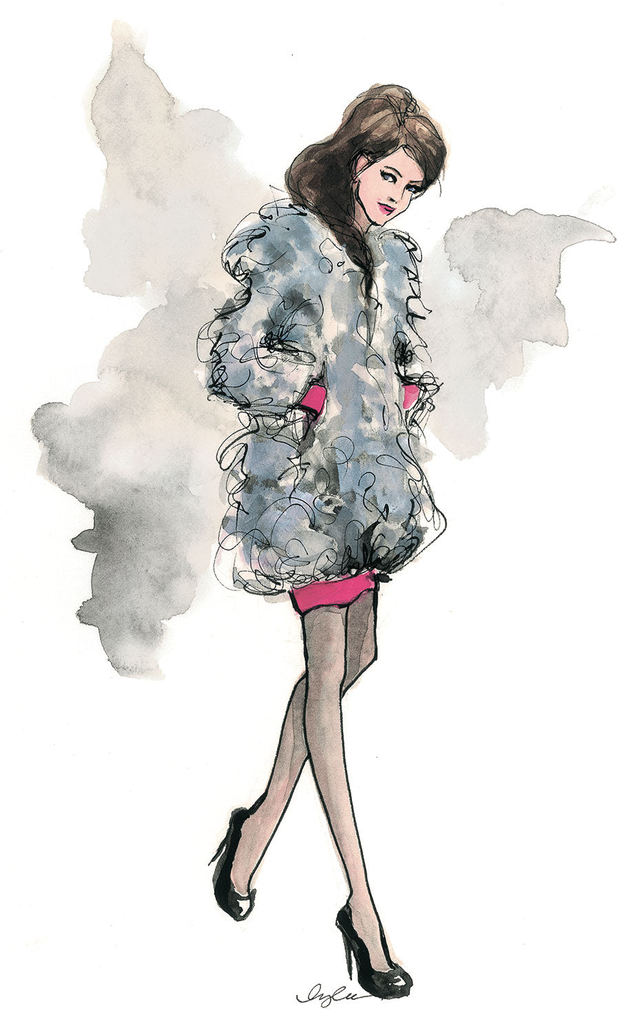Fashion Illustration Calendar : The sketch book tagged quot inslee haynes page by