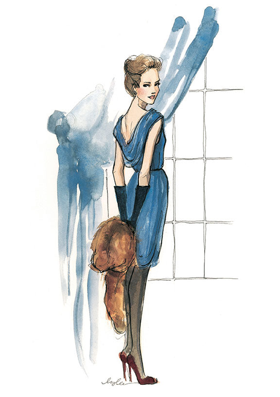 Fashion Illustration Calendar : The sketch book tagged quot inslee calendar page