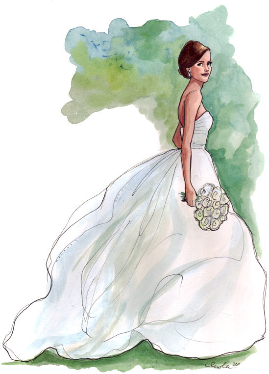 watercolor wedding dress the sketch book tagged quot bridal quot inslee by design 8368