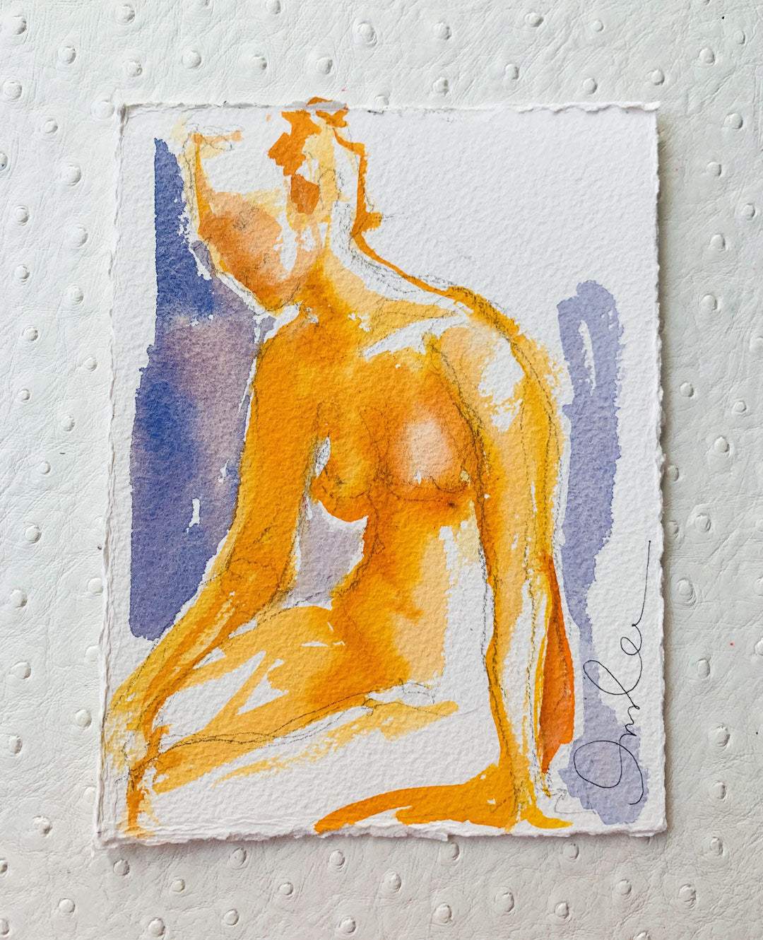 Winter Figure No. 12