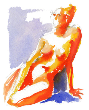 Winter Figure No. 3 {print}
