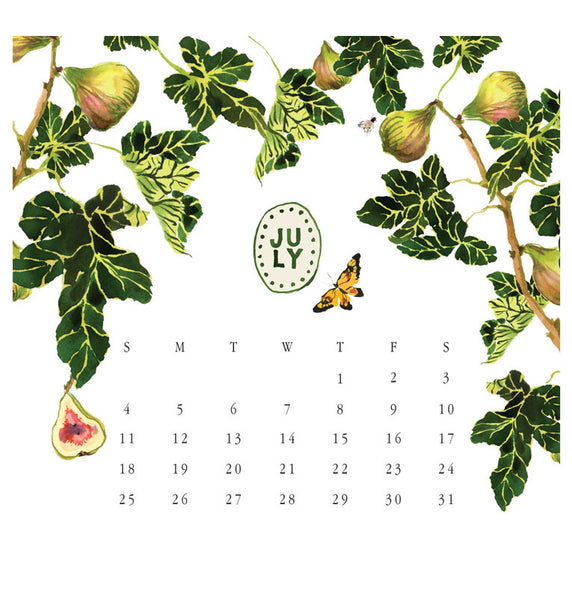 2021 Botanical Calendar Only