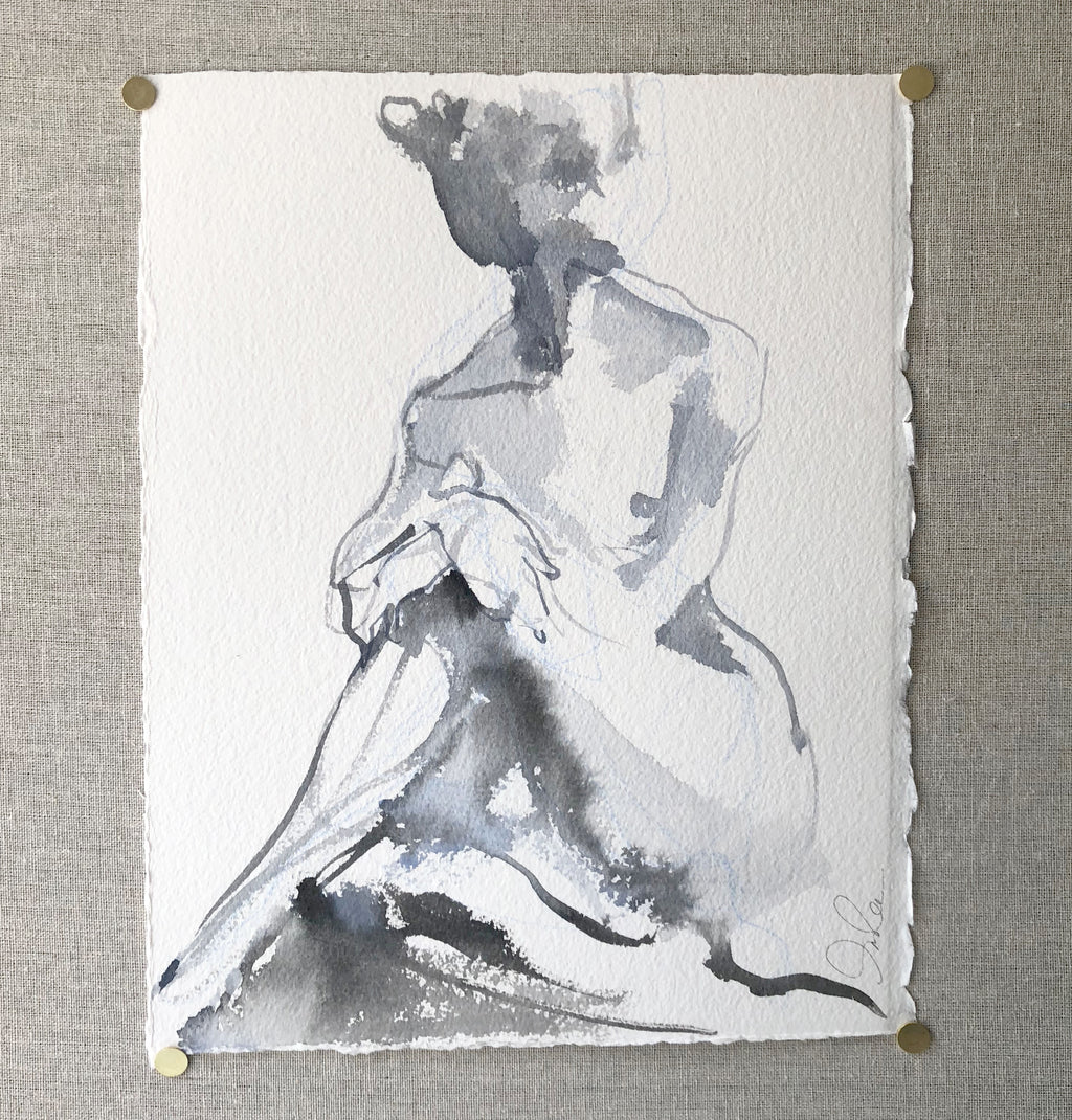 Seated Dancer