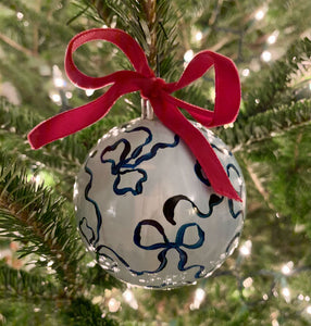 2019 Ornament: The Blue Bow One