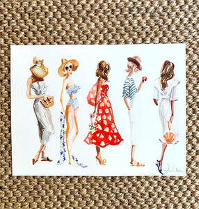 Fashion Illustration: Summer