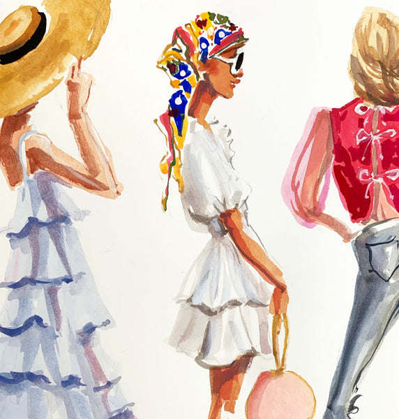Fashion Illustration: Spring