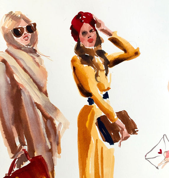 Fashion Illustration: Fall/Winter