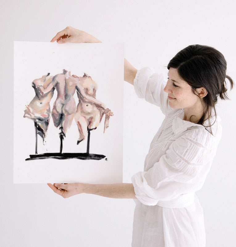 The Three Graces Print