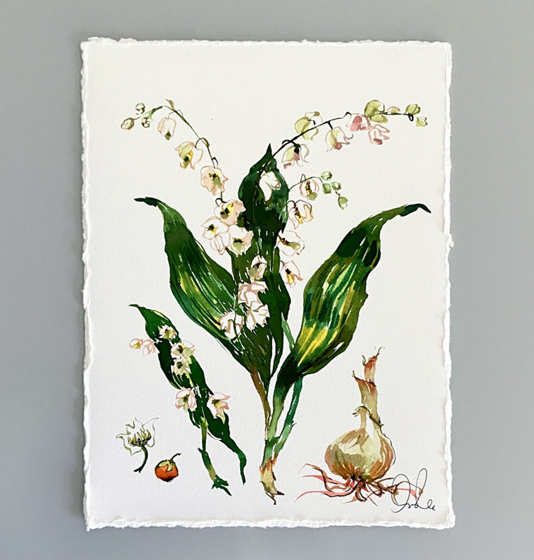 Botanical Original: Lily of the Valley
