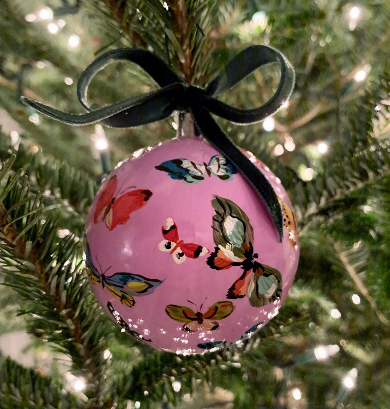 2019 Ornament: The Light Purple Butterfly One