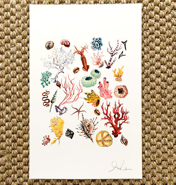 Deep Sea Collection Print