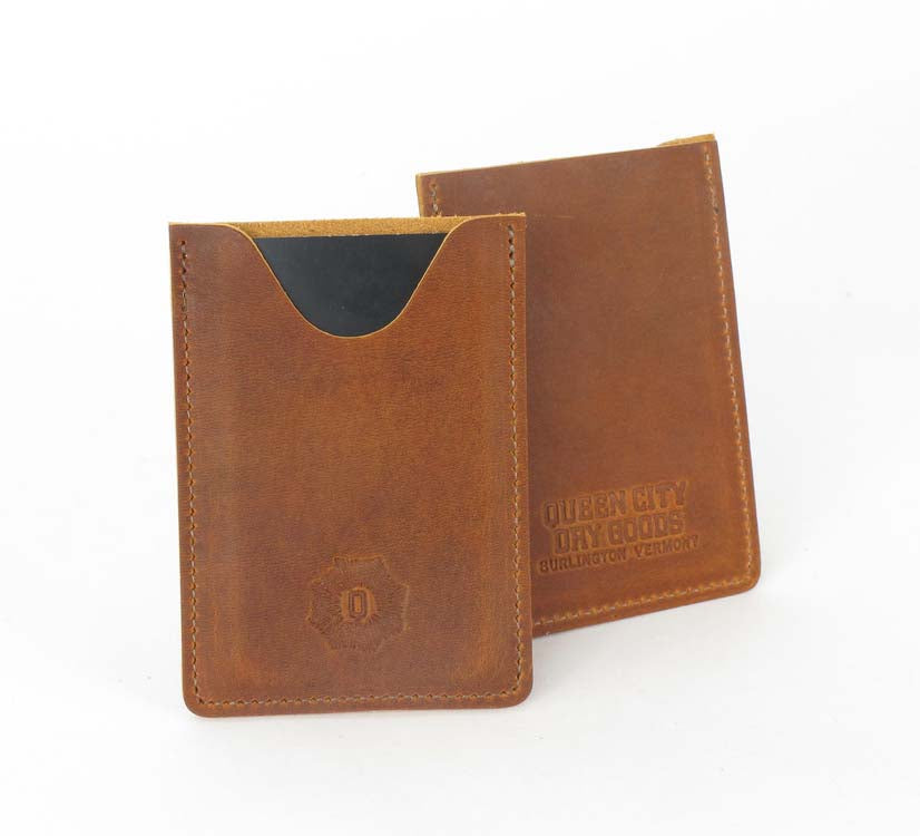 Leather Card Case - Vertical