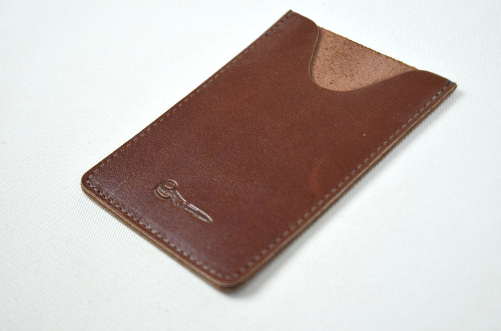 Leather Card Case - Vertical - Shears