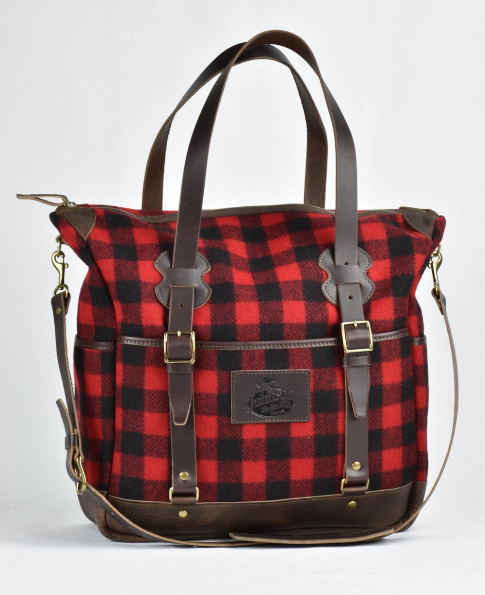 Vermonter Bag - Special Edition Johnson Woolen Mills Collaboration