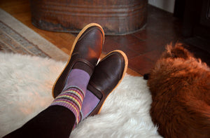 Vermont House Shoes: Loafer - Chocolate