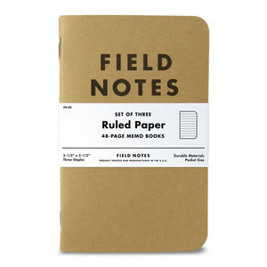 Field Notes 3-pack, Lined