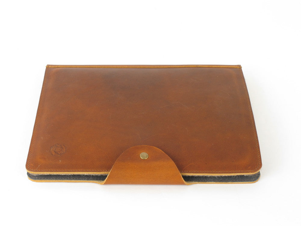 Leather iPad Folio