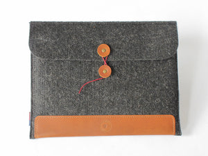 Felt & Leather iPad Sleeve