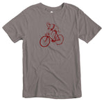 Load image into Gallery viewer, Premium Cotton Cyclist Tee