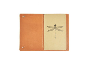 Leather Dragonfly Journal Cover
